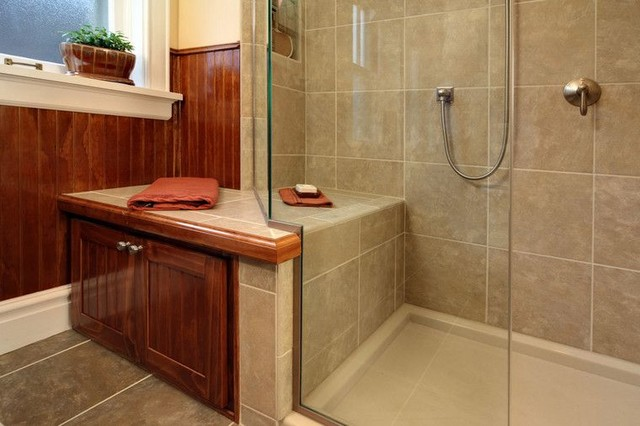 Maplewood, whole house makeover traditional-bathroom