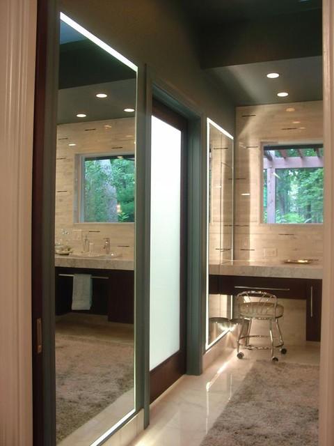 Marble Anyone? contemporary-bathroom