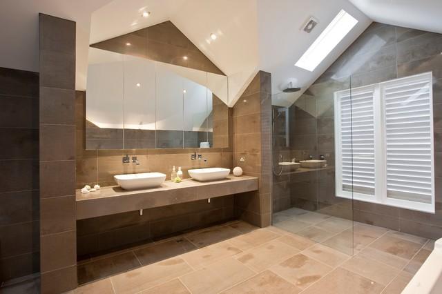 Marble Art contemporary-bathroom