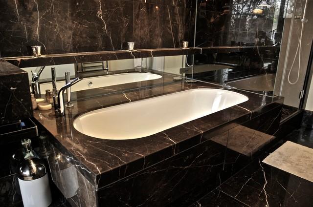 Black Stone Bath : Ogle, luxury kitchens, Bathrooms & Stonework