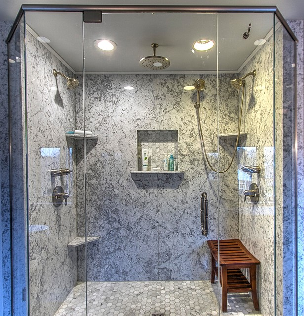 Marble Bathroom Traditional Bathroom Other By Pittsburgh Remodeling Company