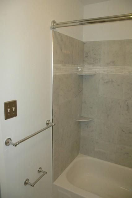 Marble Bathroom traditional-bathroom