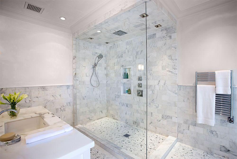 Marble Guest Bath