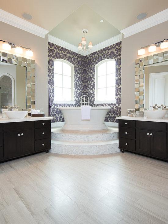 marble master bath