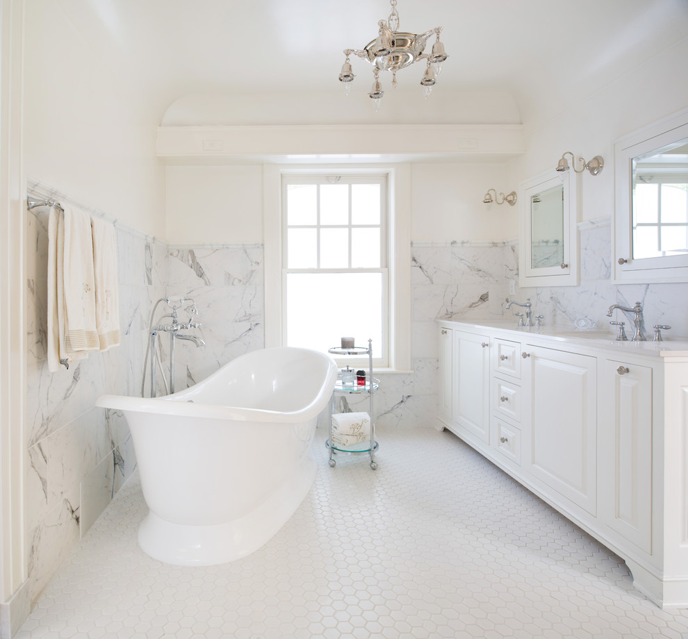 Marble Master Bath Retreat