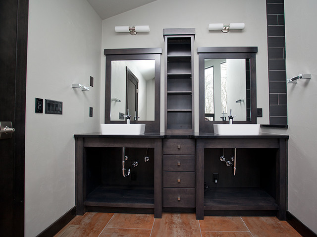Marble Rock Residence Contemporary Bathroom Other