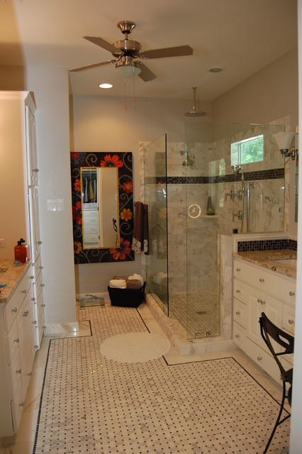 Marble Shower By LoneStar Home Solutions contemporary-bathroom