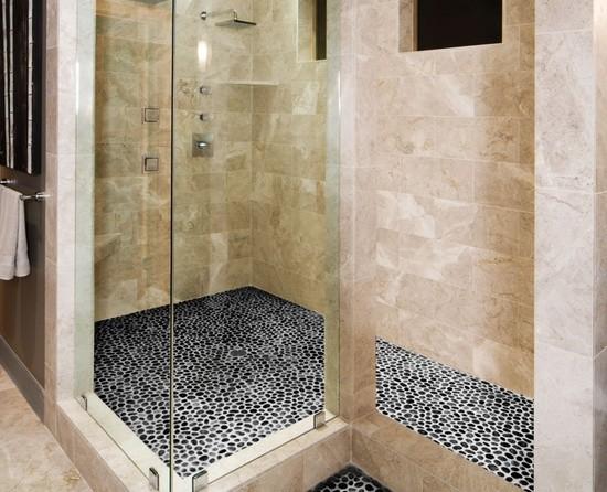 Onyx Stone Flooring : Marble travertine onyx stone contemporary bathroom