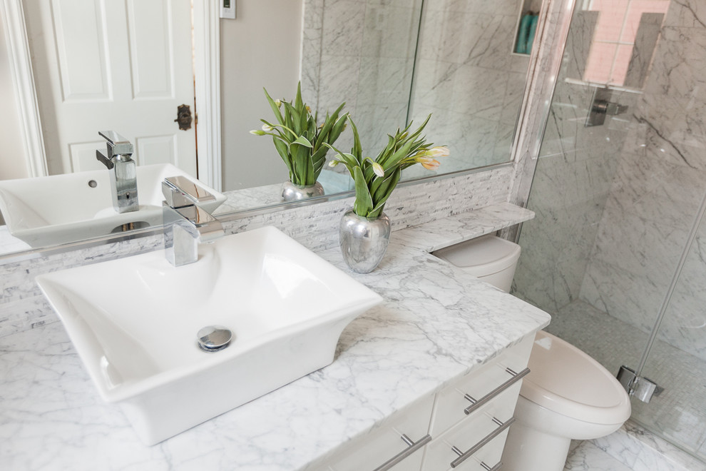 Marble Vanity With Banjo Ledge Transitional Bathroom Other By Dsf Granite Tile Houzz