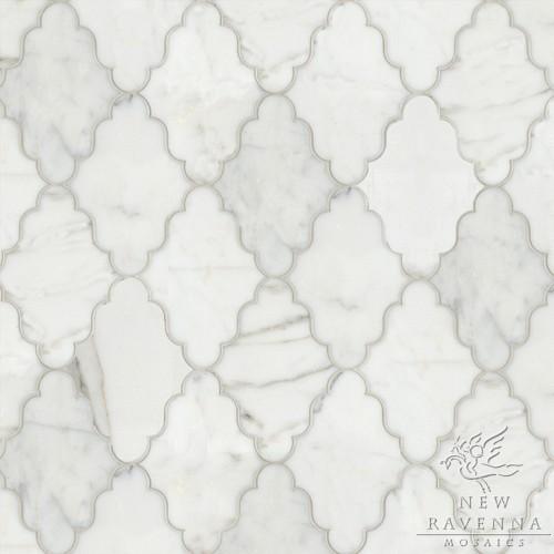 Marble Waterjet Pattern modern-tile