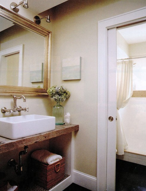 Marblehead whole house remodel traditional bathroom for Whole bathroom remodel
