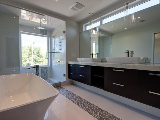 Marda Loop Semi Detached contemporary-bathroom
