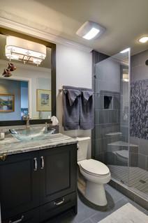 Marietta kitchen hall bathroom contemporary bathroom atlanta by weidmann remodeling Bathroom cabinets marietta ga