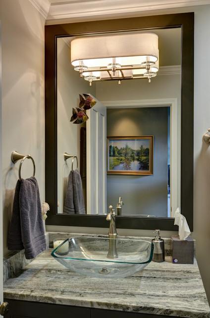 Marietta kitchen hall bathroom traditional bathroom atlanta by weidmann remodeling Bathroom cabinets marietta ga