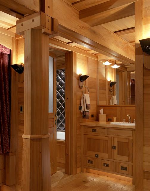 Marin Boat Room traditional-bathroom