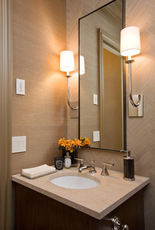 Marina Residence contemporary bathroom