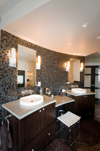 Marine Drive Penthouse contemporary-bathroom