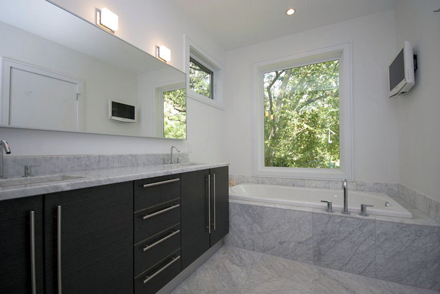 Marion Condominium - Master Bath modern-bathroom