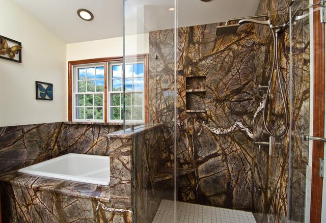 Mark Petinga photo Granite Grannies Rainforest Brown granite in a