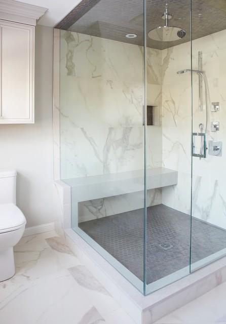 Markham Makeover transitional-bathroom