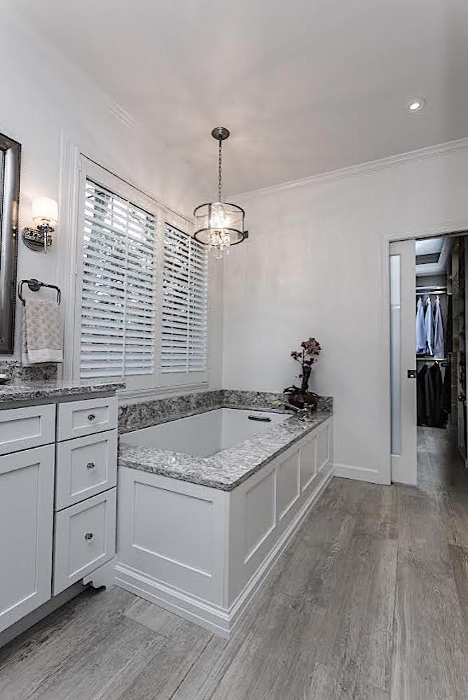 Marlton Bathroom - tub & walk-in closet