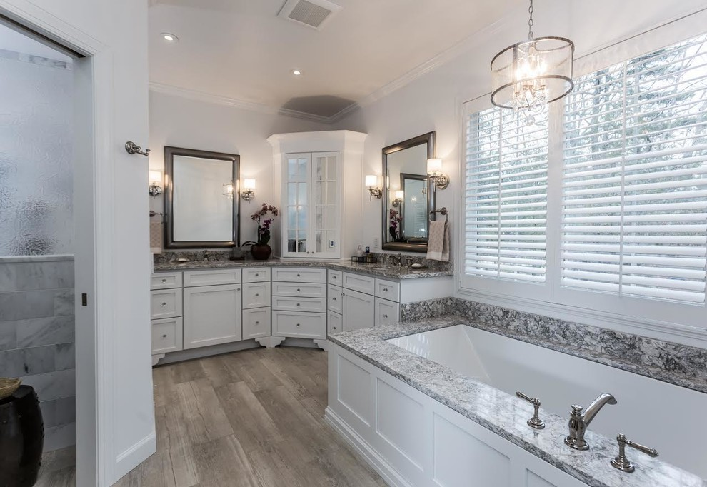 Marlton Bathroom - Tub, vanities & WC
