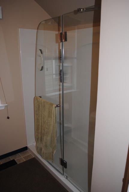 Martin - Aqua Shower Door traditional-bathroom