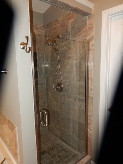 martino shower bath remodel traditional bathroom raleigh