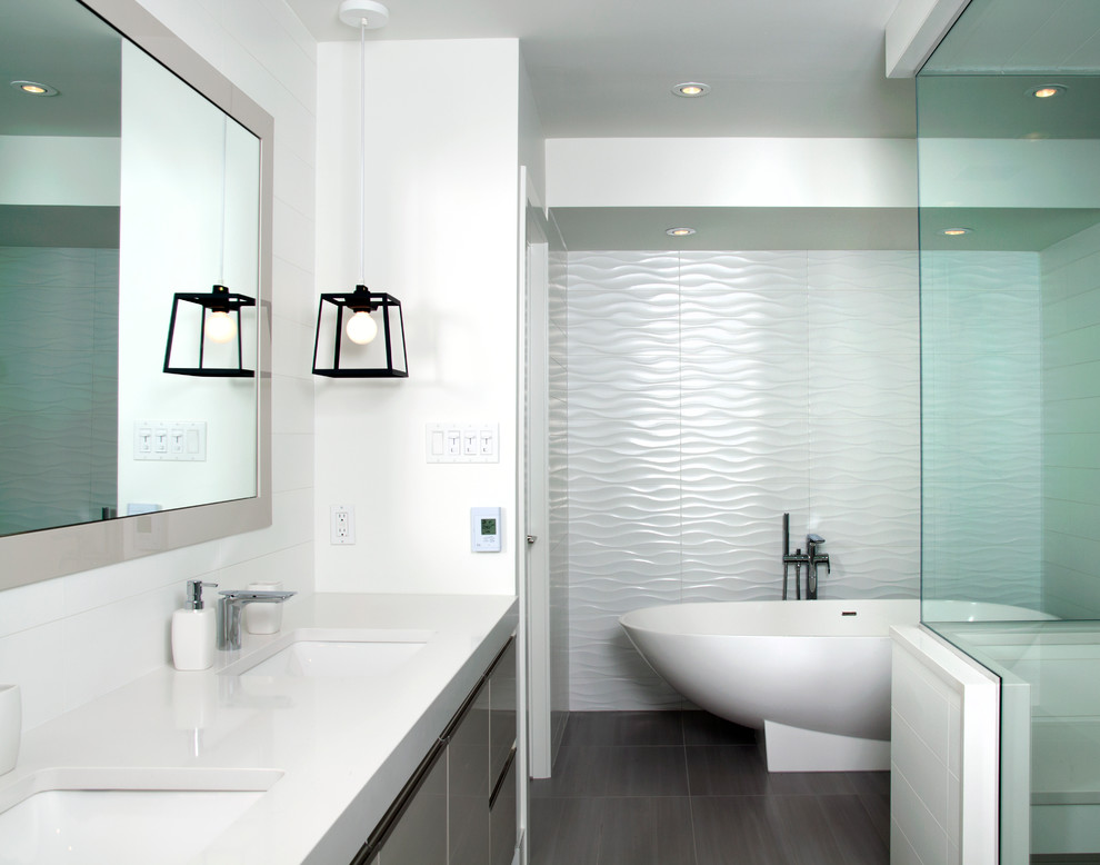 Maryland Place - Contemporary - Bathroom - Calgary - by ...