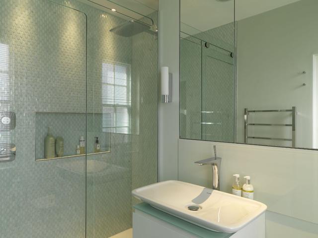 Marylebone Apartment London Contemporary Bathroom
