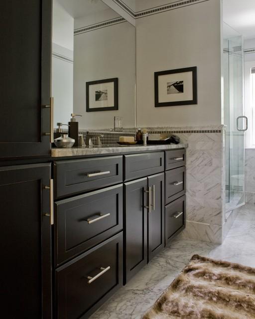masculine bathroom contemporain salle de bain boston par jtm interiors llc. Black Bedroom Furniture Sets. Home Design Ideas