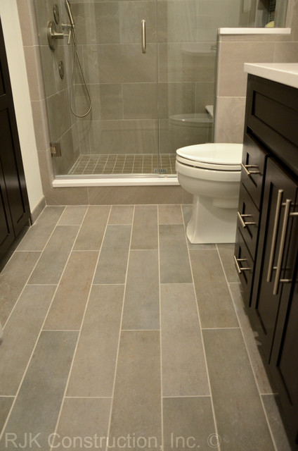 Floor Tile Design Ideas For Renovate Small Bathroom ~ Masculine bathroom renovation contemporary