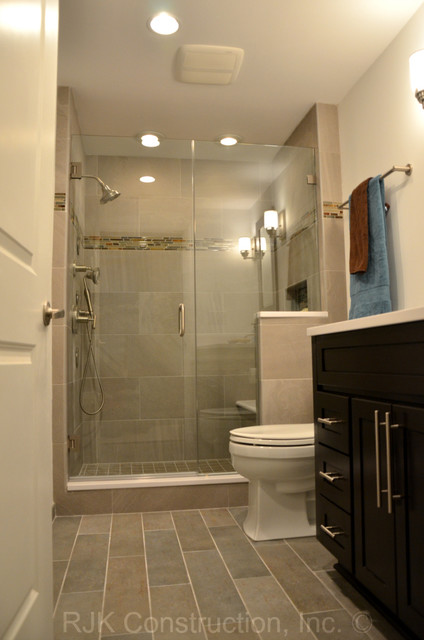 Manly Bathroom Pictures: Masculine Bathroom Renovation