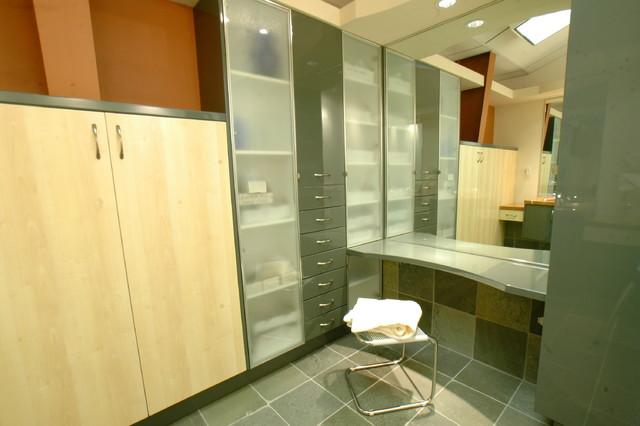 cool masculine bathroom | Masculine Yet Cool Bath/Dressing Room - Modern - Bathroom ...