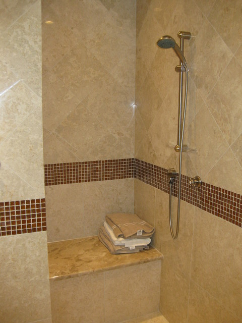 Mive Master Shower Sit Down And Stay Awihile Traditional Bathroom
