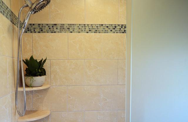 Master and Teen Baths traditional-bathroom