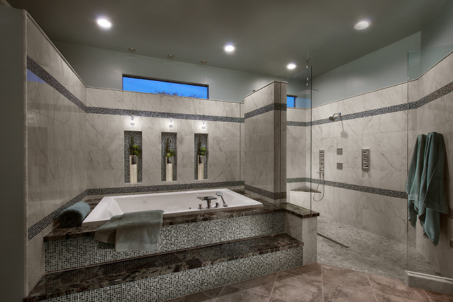 Master Bath After Remodel Contemporary Bathroom Phoenix By Designs By Robyn Llc