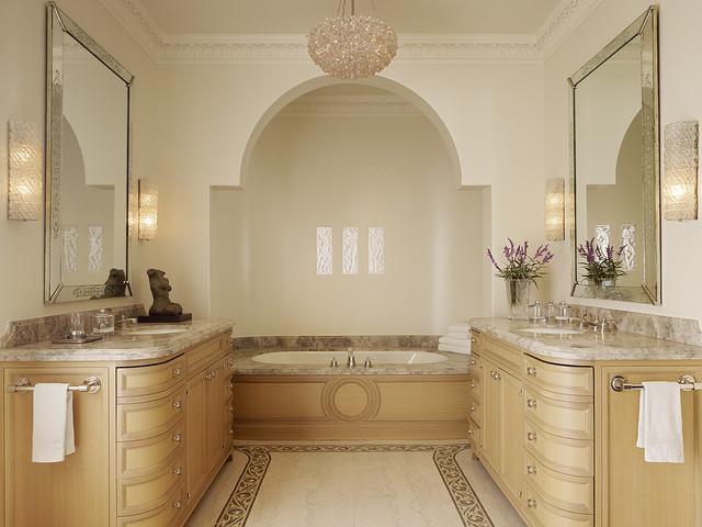 Master bath mediterranean bathroom san francisco for Bathroom design san francisco