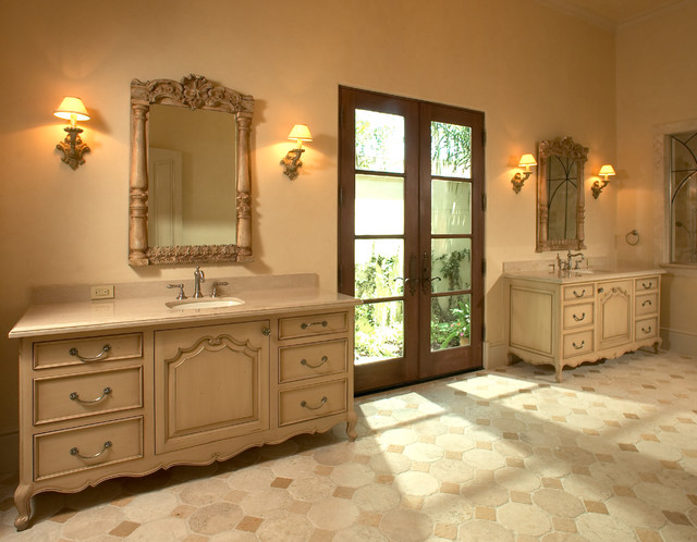 mediterranean bathroom by Allan Edwards