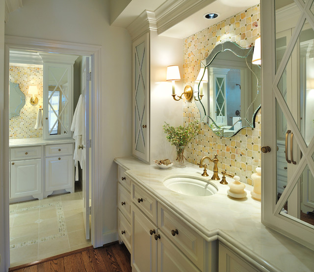 Master Bath and Closet Remodel traditional-bathroom