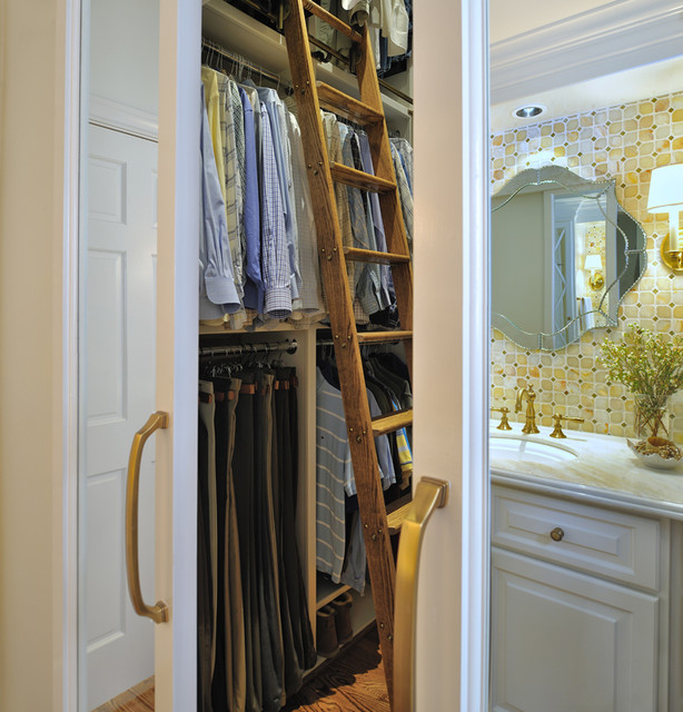Master Bath and Closet Remodel traditional-bathroom