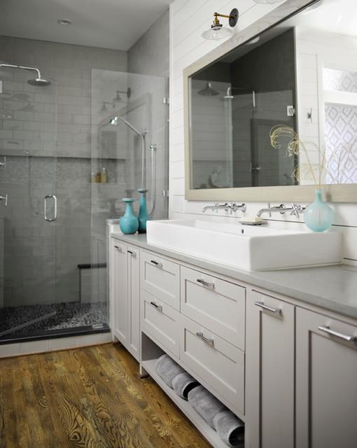 Awesome East Nashville Modern Prairie  Modern  Bathroom  Nashville  By