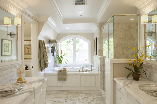 traditional bathroom by Arch Studio, Inc.