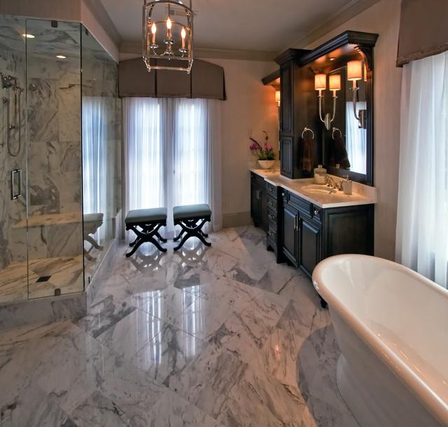 Master Bath Custom Cabinets Eclectic Bathroom