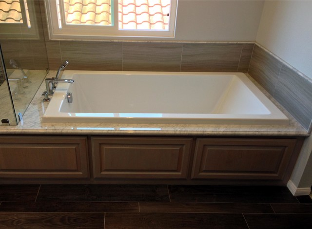 master bath custom tile redmodel contemporary bathroom