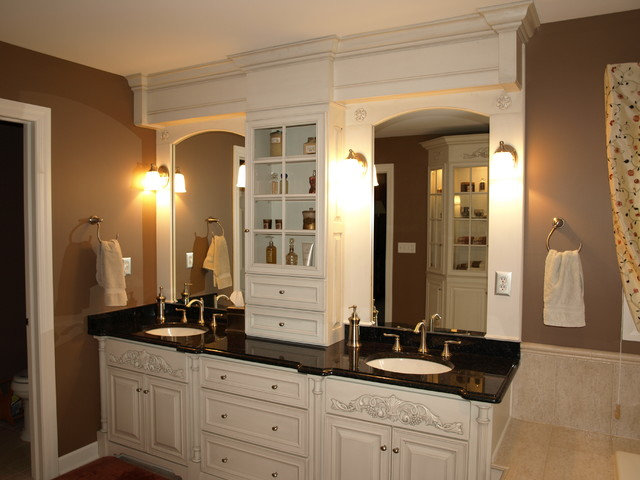 Bathroom Vanity Tower Ideas : Master bath traditional bathroom other metro by