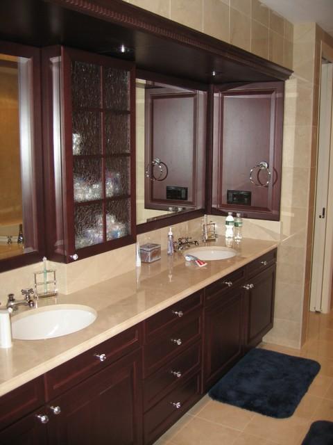 master bath double sink