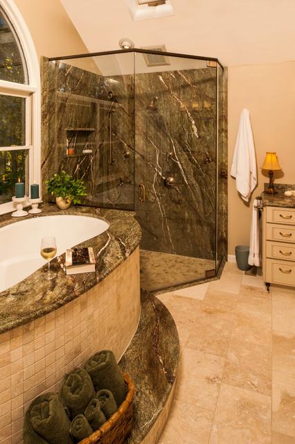 Master bath durham nc traditional bathroom Bathroom remodel durham nc