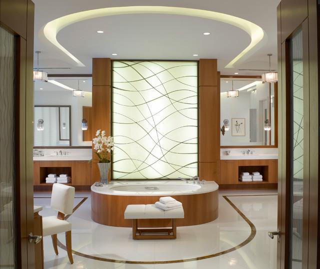 Ocean Penthouse Miami Beach Contemporary Bathroom Miami By Alene Work