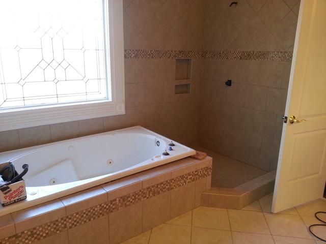 Master bath fail. traditional-bathroom